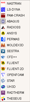 FEM Softwares Logos